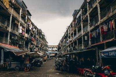 people, city, poor